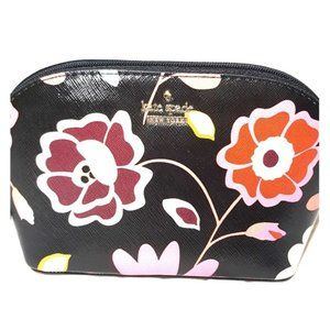 Kate Spade Domed Cosmetic Case Clutch Floral bag